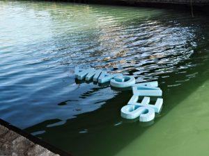 「河崎・水に親しむ」造形ワークショップ(第19回河崎商人市)