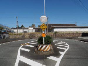 JR参宮線 田丸駅の南側にあるロータリー