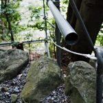 御造替の準備、朝熊神社(皇大神宮 摂社)