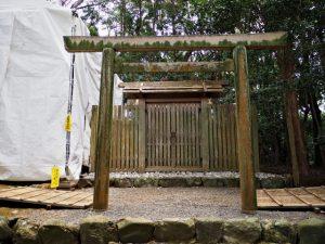 御造替が進められる宇治山田神社(皇大神宮 摂社)
