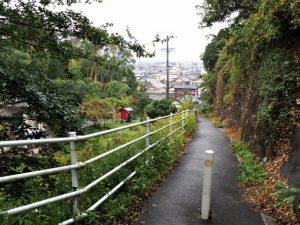 天神丘から玄忠寺へ(伊勢市浦口〜二俣)