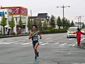 青山学院大 梶谷 瑠哉(第50回全日本大学駅伝 第8区)