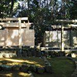 新殿と古殿、宇治山田神社(皇大神宮 摂社)