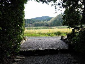 奈良波良神社(皇大神宮 摂社)からの風景