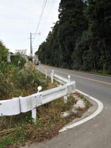 奈良波良神社(皇大神宮 摂社)付近