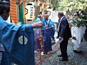 伊射波神社 御魚取り神事(鳥羽市安楽島町)