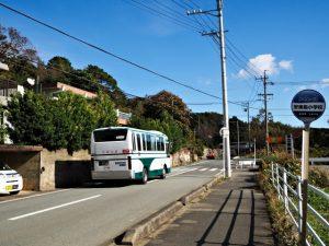 かもめバス 安楽島小学校 バスのりば