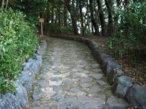 仮設トイレも撤去された宇治山田神社(皇大神宮 摂社)