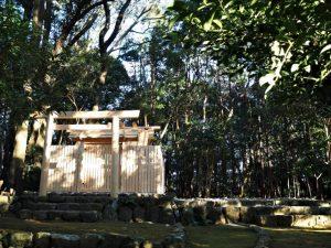 古殿が姿を消した宇治山田神社(皇大神宮 摂社)