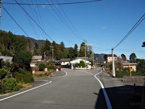 珍布峠ウォーキングコースマップ(3)地点