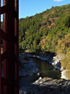 野々口橋から望む櫛田川の上流側