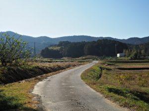 的山公園 第2駐車場を出発(度会郡玉城町山神)