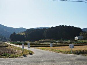 鴨神社(皇大神宮 摂社)方向の遠望