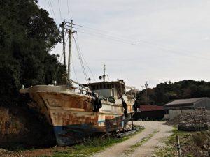 カキの名産地 浦村大吉湾付近