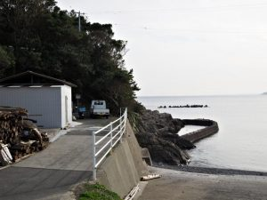 鎧崎と前之浜(鳥羽市国崎町)