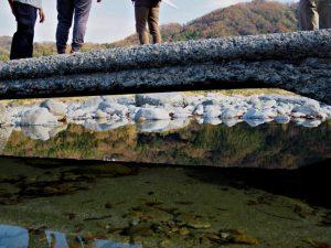 櫛田川の沈下橋(松阪市御麻生薗町・多気郡多気町牧)
