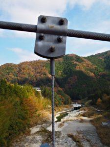 茶倉橋から望む櫛田川の下流方向