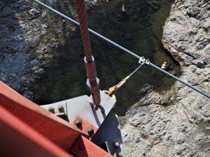 茶倉橋から見下ろした櫛田川