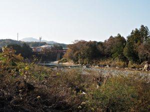 櫛田川の沈下橋(多気郡多気町下出江・同郡同町古江)