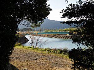 社窓からの風景、朝熊神社(皇大神宮 摂社)