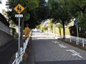 市バス 八事音聞山 バス停付近