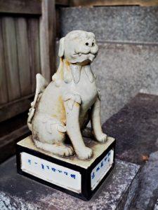 白龍神社の狛犬、塩竈神社(名古屋市天白区御幸山)