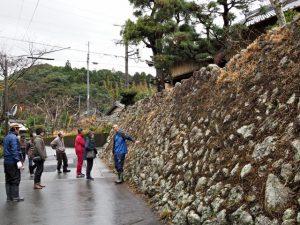 廣福寺の石垣(度会町脇出)