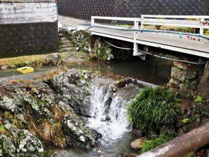 廣福寺の前を流れる川(度会町脇出)