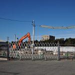 建て替えのために解体されていたJR参宮線山田上口駅の駅舎