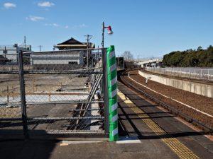 JR参宮線山田上口駅ホーム