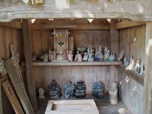 山神社(?)、諏訪神社(伊賀市丸柱)