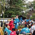 萬歳楽 豊年舞、櫲樟尾神社(伊勢市楠部町)