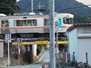 JR参宮線 松下駅付近