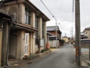 夫婦岩表参道から裏通りを抜けて堅田神社(皇大神宮 摂社)へ