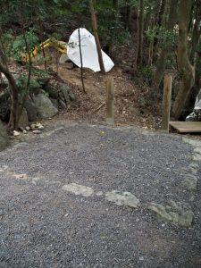 朝熊御前神社(皇大神宮 摂社)の御造替準備