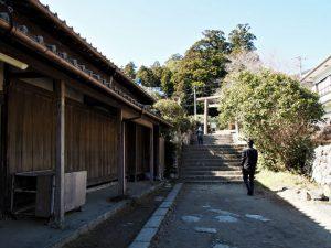 振ヶ瀬橋付近(熊野古道 大門坂)