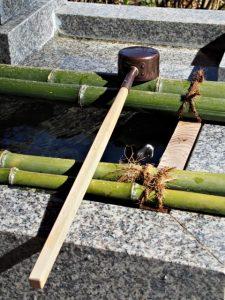 手水舎にて(熊野那智大社)