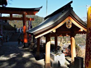 手水舎(熊野那智大社)