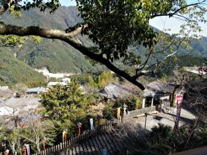 熊野那智大社からの眺望