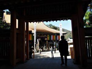 熊野那智大社から青岸渡寺へ