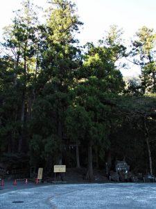 飛瀧神社(熊野那智大社別宮)の参道入口付近