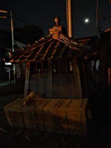 高向御頭神事-積木祭場へ運ばれていたオワケ