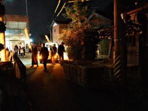 高向御頭神事-積木祭場に運ばれたオワケ