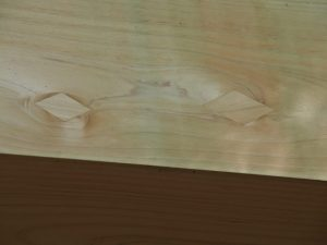 小工の技の再確認、河原神社(豊受大神宮 摂社)