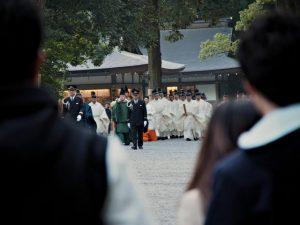 退位及びその期日奉告祭 奉幣の儀(外宮)