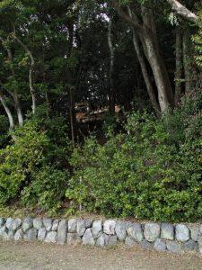 仮設の作業台が撤去されていた朝熊神社朝熊神社・朝熊御前神社(ともに皇大神宮 摂社)