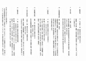 幕末田丸の名刀展(村山龍平記念館)の出品目録
