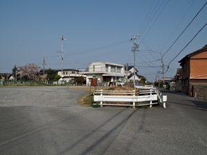 BUS STOP 大湊 三重交通 バス停付近