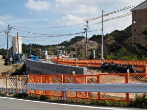 池の浦橋(JR参宮線跨線橋)の改築工事