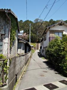 棒原神社(皇大神宮 摂社)の参道階段へ